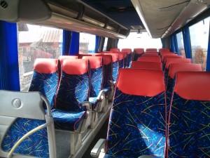 bus wnętrze