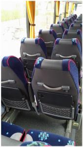 zdjęcie foteli w busie